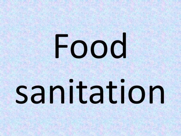 Food Sanitation Program